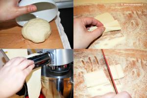 preparare la pasta di farro