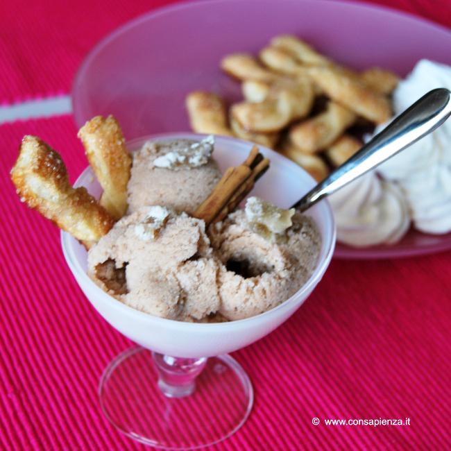 gelato cannella e zenzero