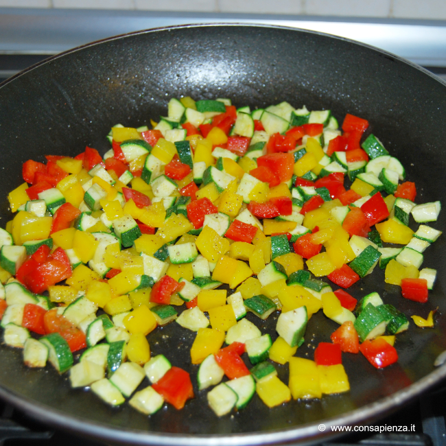 saltare le verdure