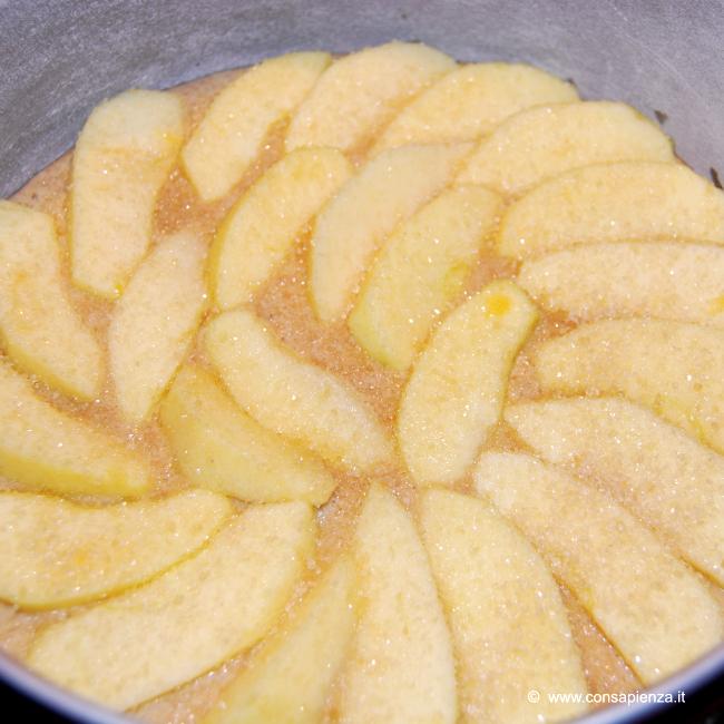 mettere le mele a giro