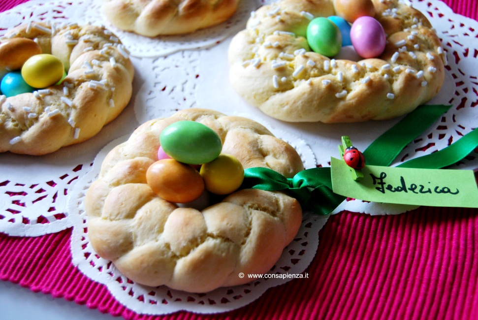 Ciambelle dolci di Pasqua