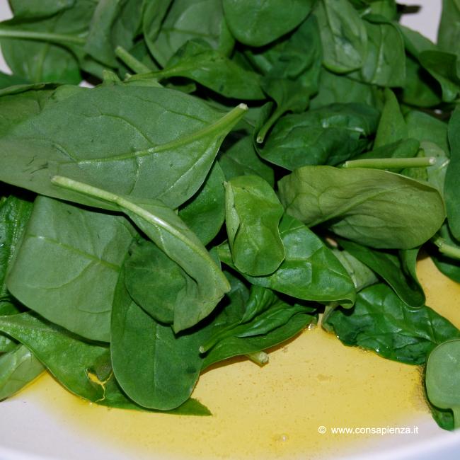 Scottare gli spinacini