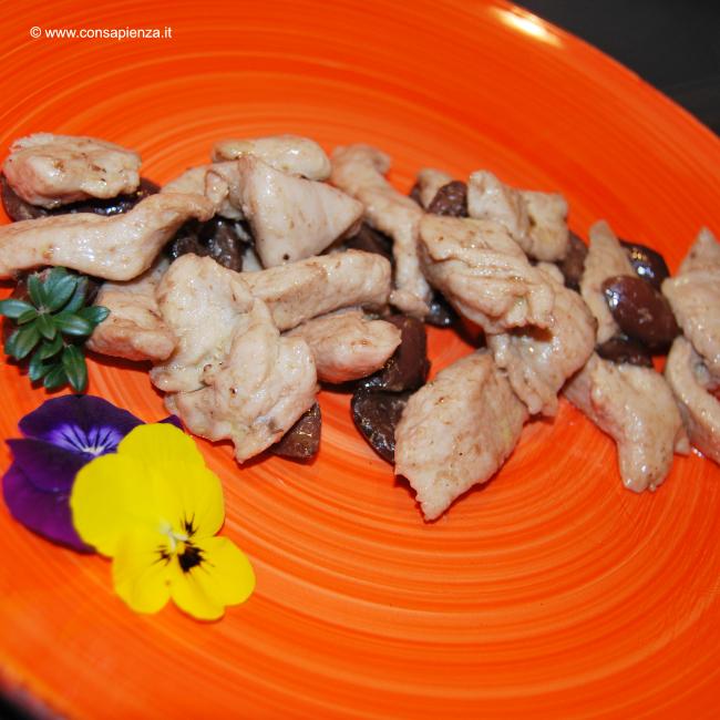 Pollo al mirto