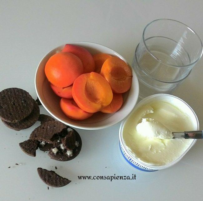 albicocche e cioccolato